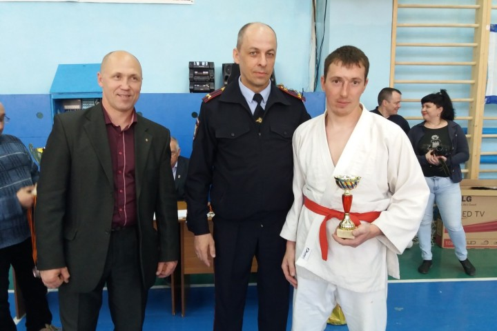 Павел Сигутин - приз За волю к победе