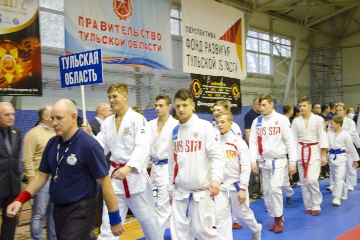 Первенство России по рукопашному бою в Туле