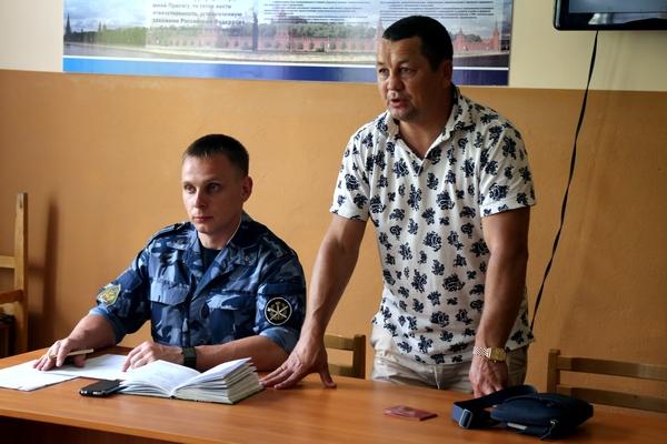 Федерация рукопашного боя Челябинской области обучает сотрудников областной ФСИН