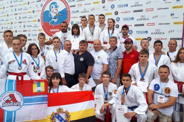 Анапа. Награждение победителей и призеров в возрастной категории 18-21 год