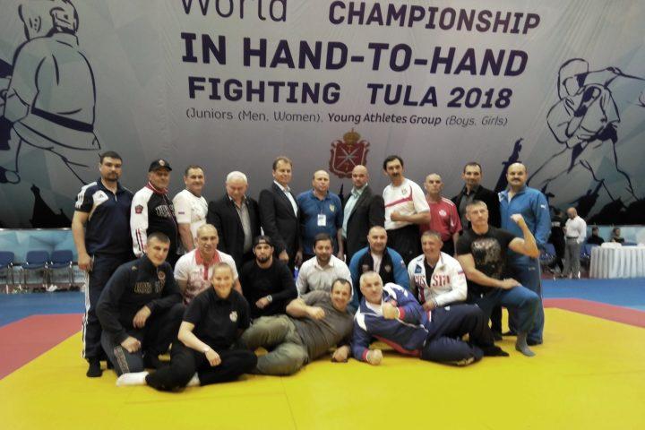 Спортсмены Владимирской Федерации рукопашного боя стали призёрами Первенства Мира в Туле