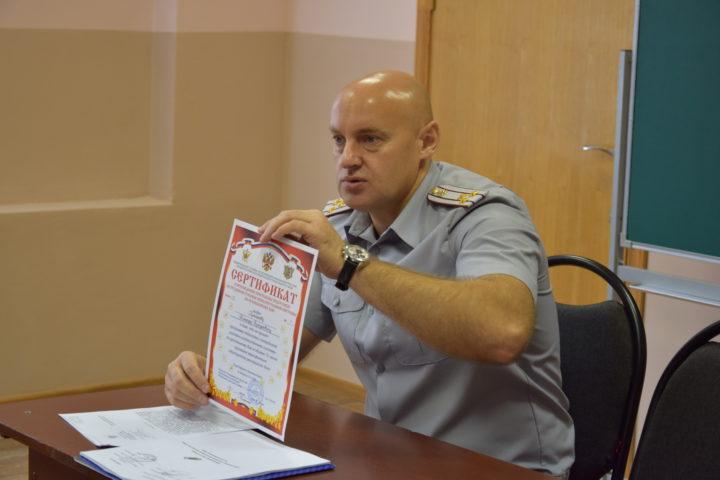 Во ВЮИ ФСИН России началась подготовка инструкторов рукопашного боя