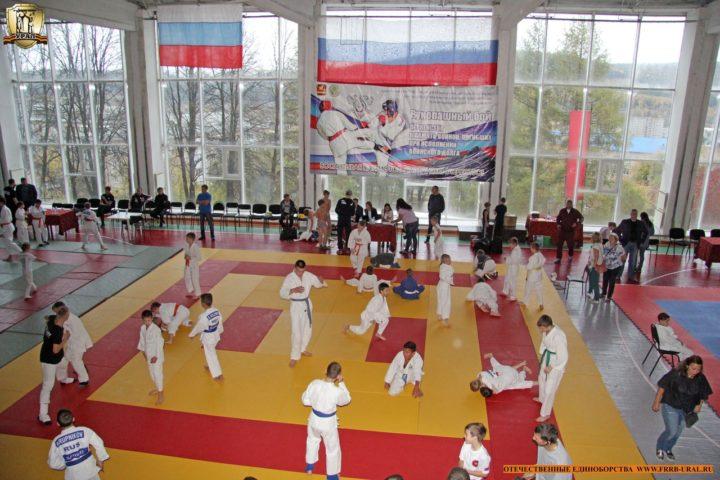 Открытое первенство Горнозаводской зоны по рукопашному бою Златоуст