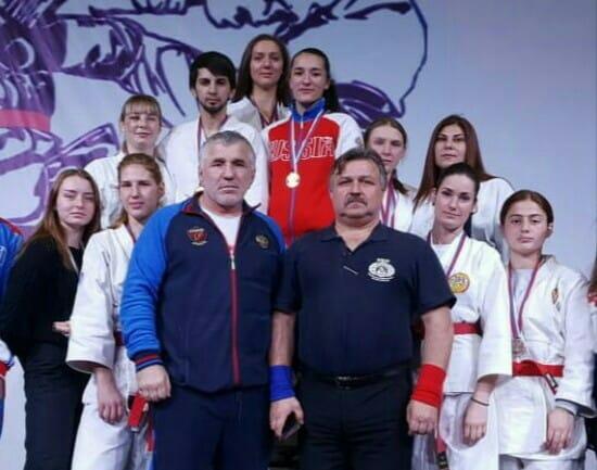 Сборная Ставропольского Края на Чемпионате России по рукопашному бою