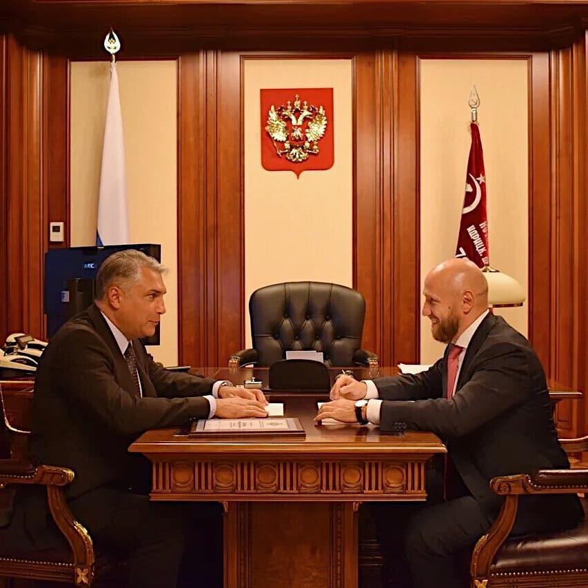 Встреча с Матовниковым Александром Анатольевичем